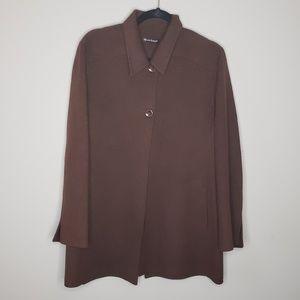 Alexandra Bartlett wool swing coat large